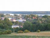 Widok na jezioro Lubie
