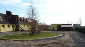 Działka z budynkiem produkcyjnym
