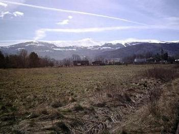 Piękna działka w górach