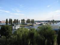 mieszkanie z widokiem na port