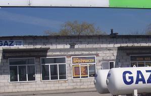 Stacja gazu+sklep