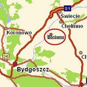 Działka budowlana w Borównie