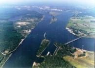 Port blisko Świnoujścia