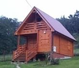 Dom drewniany w Beskidzie Zywiec
