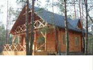 Dom drewniany z bala, całoroczny