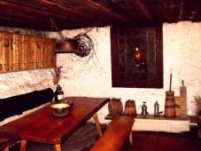 drewniana willa z klimatem