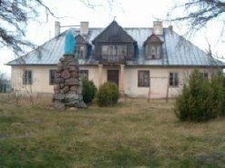 Budynki gosp. + pałac