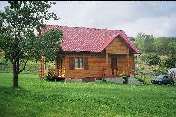 Drewniany dom wypoczynkowy